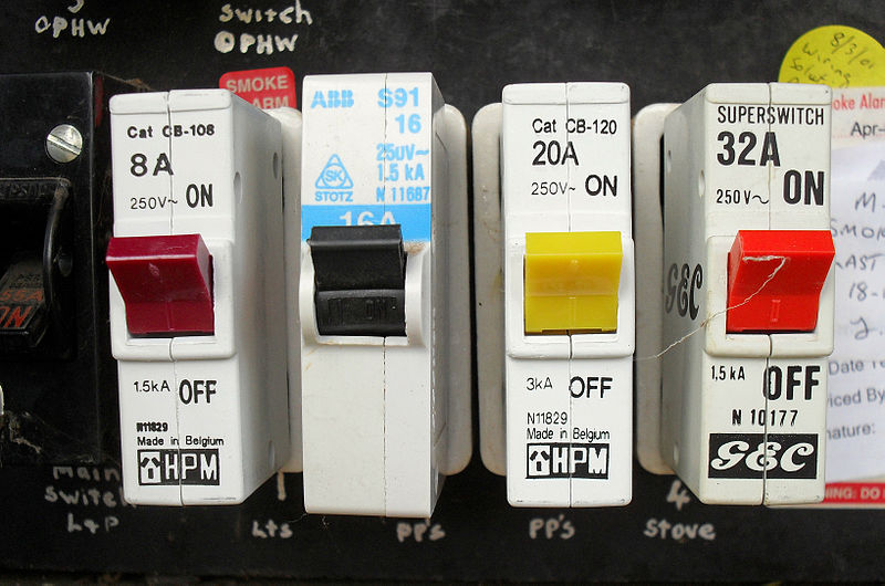 A-main-switch-box-with-reliable-breakers Important steps to ensure electrical safety in your house