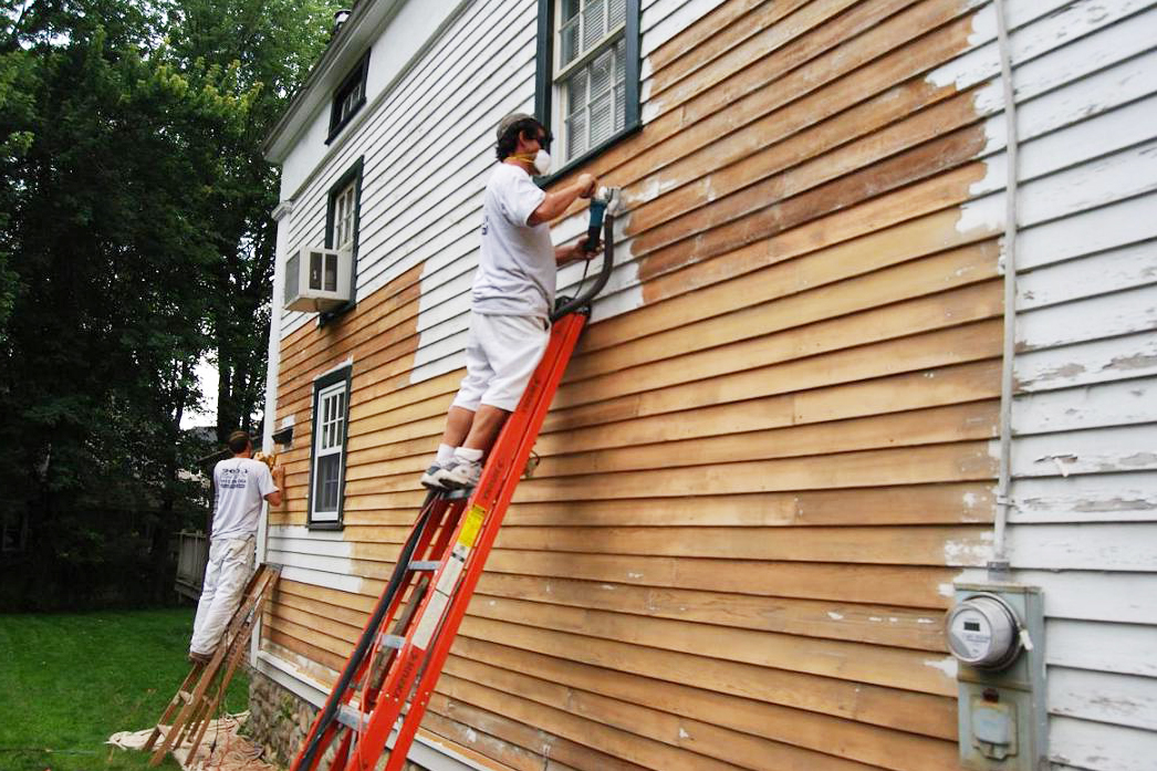 How to repaint the outdoor walls of your house