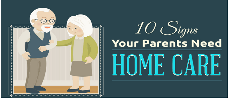 Ten Signs Your Parents Need Homecare